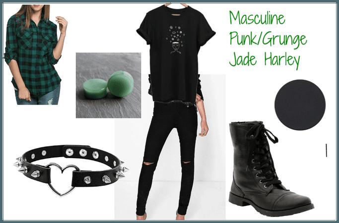 Masculine Punk/Grunge Jade Harley
