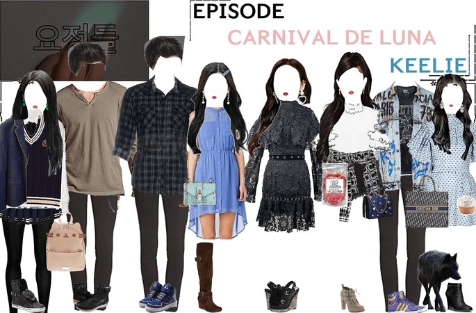 FAIRYTALE EPISODE 2: CARNIVAL DE LUNA | KEELIE & DEREK (the WereWolf) SCENES