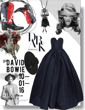 38. Wedding with Bowie: dark with a pinch of fun