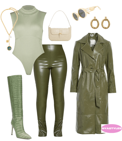Monochrome Leather 💚