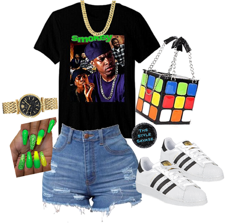 summer casual nineties throwback theme