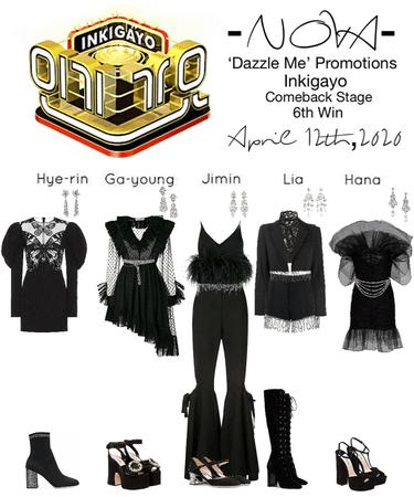 -NOVA- 'Dazzle Me' Inkigayo Stage