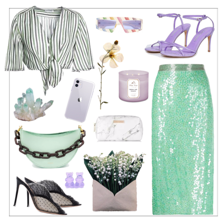 Green + Lilac