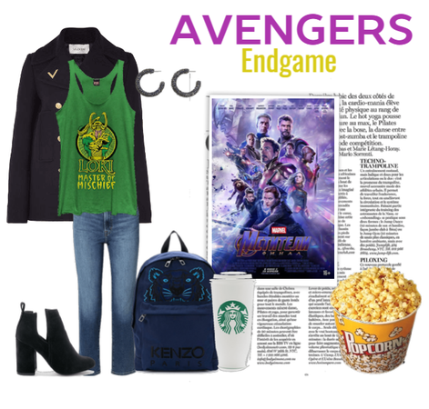 Avengers Endgame viewing day