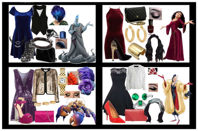 disney villains prom looks