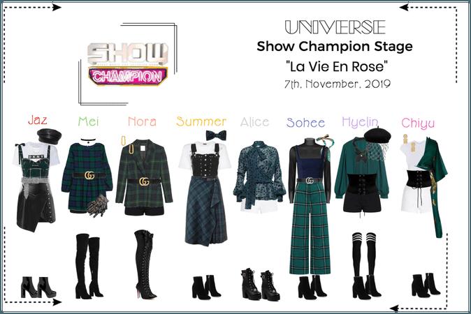 """UNIVERSE Show Champion Stage """"La Vie En Rose"""""""