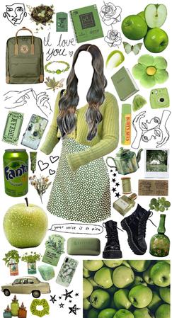green apple 🍏