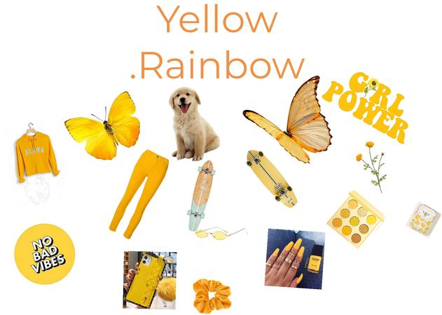 Yellow rainbow