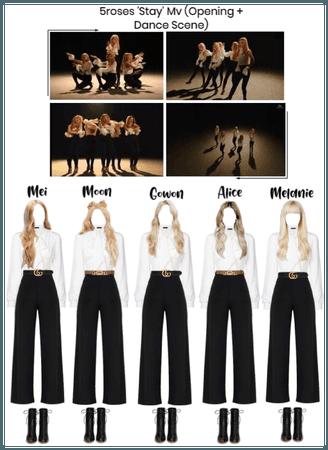 5roses 'Stay' Mv (Opening + Dance Scene)