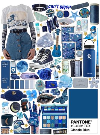 classic blue 🦋✨