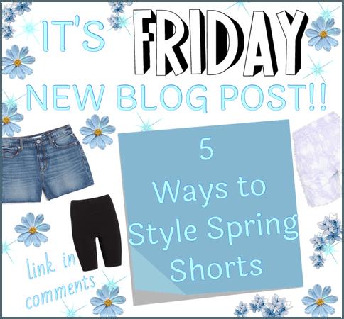 It's Friday! New Blog Post!!