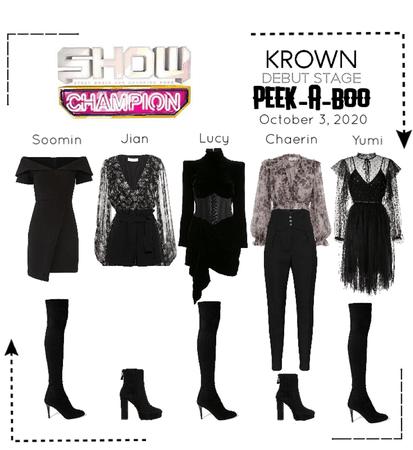 [Show Champion] 구라은 - 피커부의 (KROWN - Peek-A-Boo) EP.416