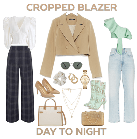 Day to Night: Cropped Blazer