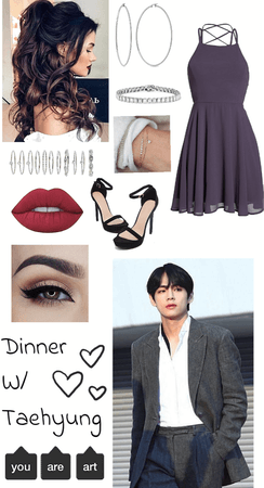 Dinner Date With Taehyung