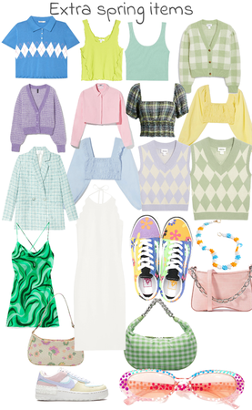 extra spring items