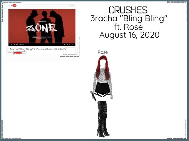 """Crushes (호감) 3racha """"Bling Bling"""" ft. Crushes Rose"""