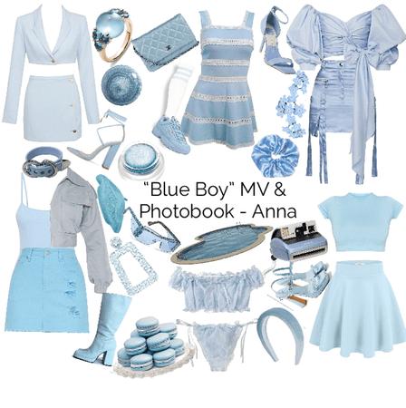 """Blue Boy"" MV & Photobook - Anna"