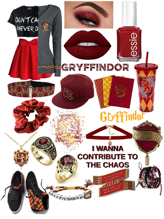 Gryffindor Inspired Outfit