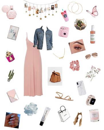 Simple, Minimal Dress Blush Pink