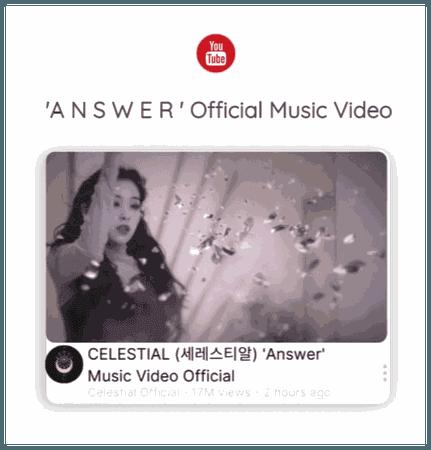 세레스티알 (Celestial)   'ANSWER' Official Music Video