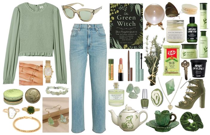 The Green Thumbed Witch