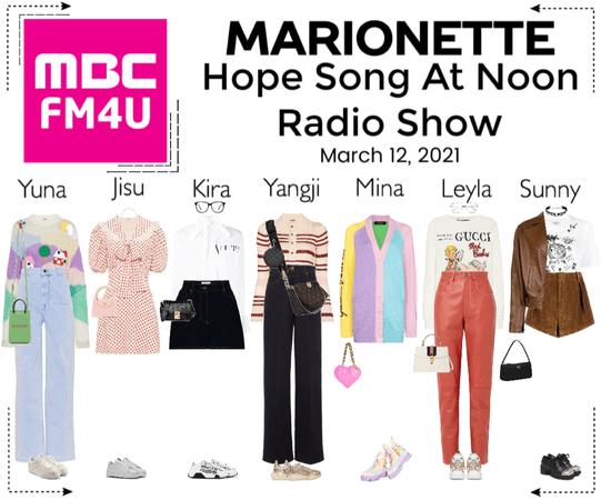 마리오네트 (MARIONETTE) - Hope Song At Noon Radio Show