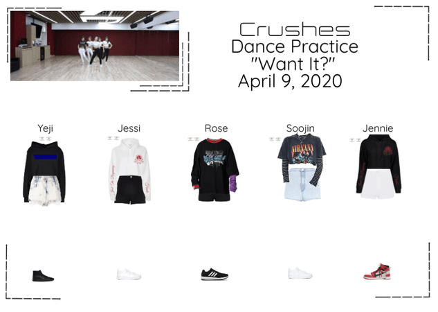 "Crushes (호감) ""Want It?"" Dance Practice"