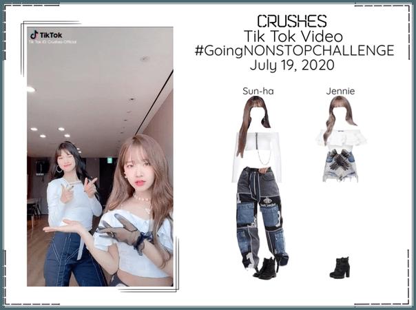 Crushes (호감) [Sun-ha & Jennie] Tik Tok Challenge