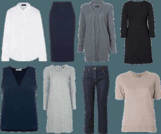 Base wardrobe - 01
