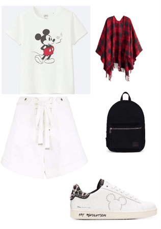 simple ootd for Mickey's Birthday!