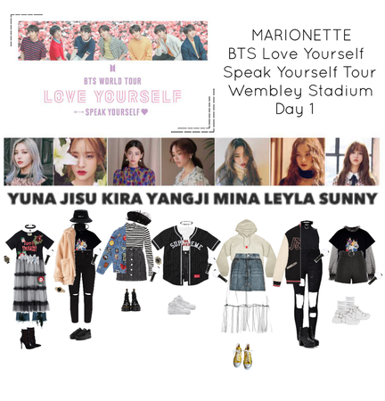 {MARIONETTE} BTS World Tour Love Yourself Speak Yourself