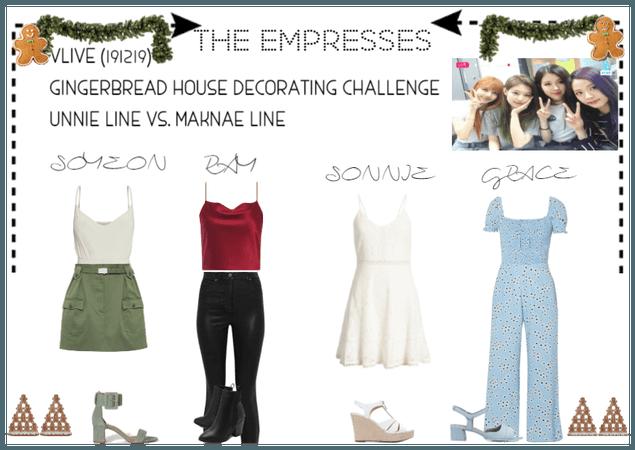 [THE EMPRESSES]V APP: GINGERBREAD HOUSE DECORATING