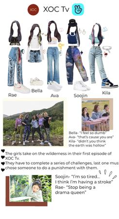 XOC Tv, XOC's Vlive show | Fake Girl Group
