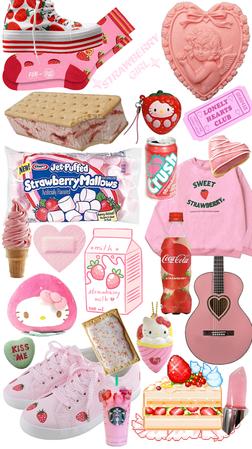strawberry vanilla 🍓🍦