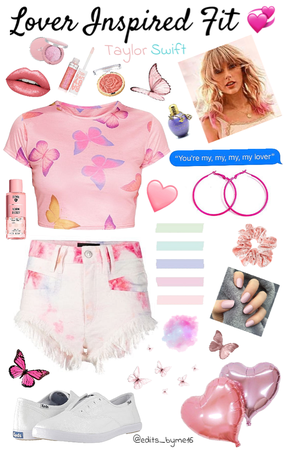 "Taylor Swift ""Lover"" Inspired Fit 💞"