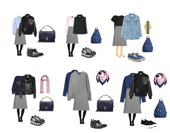 Gray skirt1