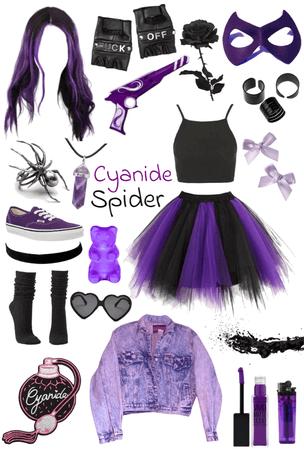 My killjoy OC:Cyanide Spider
