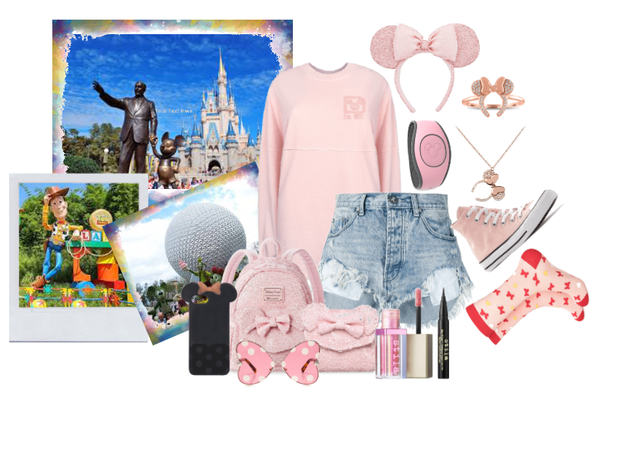 Feelin' Millennial (Pink): Disney World Park Day