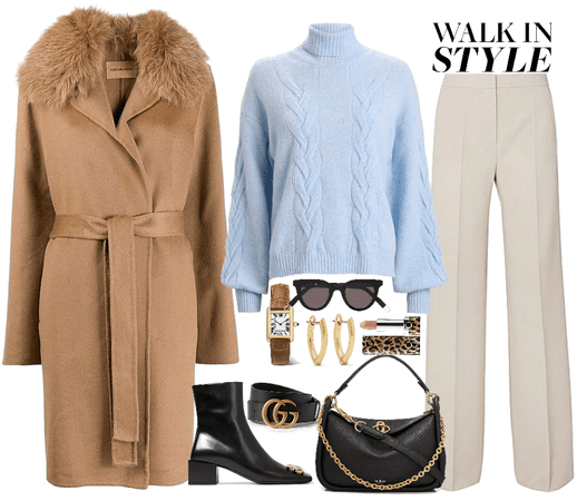 cozy elegance look