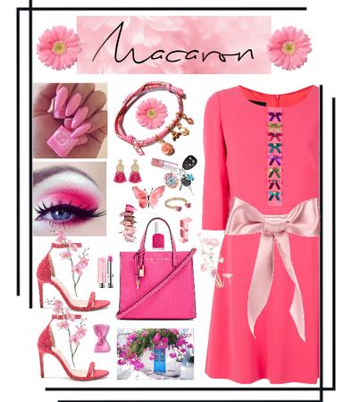 Cherry Pink Macaron