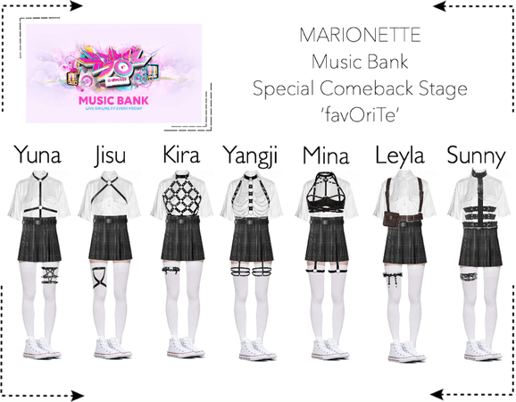 MARIONETTE (마리오네트) [Music Bank] 'favOriTe' | Special Comeback Stage