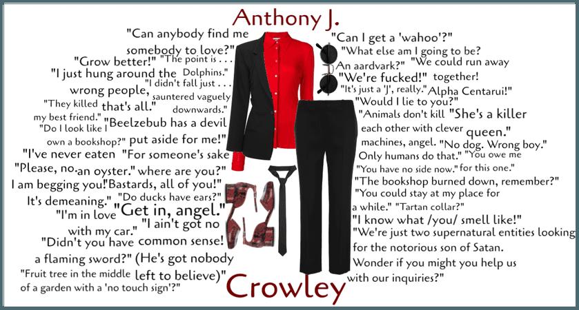 Anthony J. Crowley Closet Cosplay