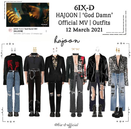 6IX-D [식스디] (HAJOON) 'God Damn' Official MV 210312