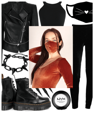 SPRING 2020: Style A Face Mask (The Biker Girl)