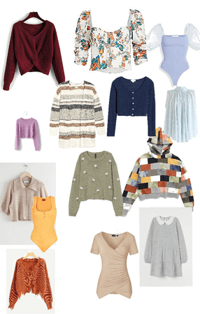 Some fall blouse/sweater ideas