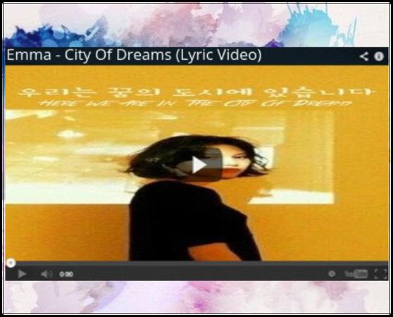 [STYLE] Emma 'City Of Dreams' (Lyric Video)