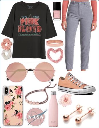 Rose Gold Pink Floyd