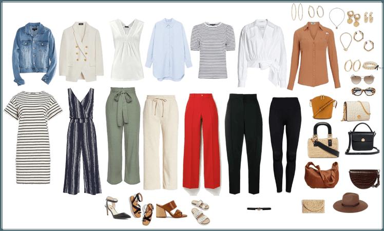 Classic Spring Capsule Wardrobe 2021