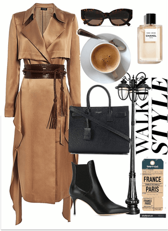 fall cafe look