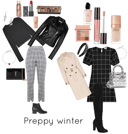 preppy winter ( soft and lil bit e girl)